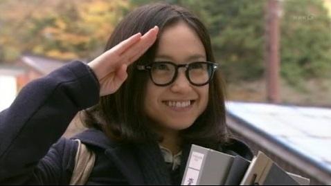 永作博美のメガネ写真
