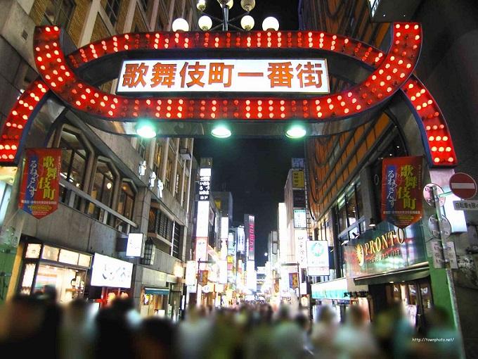 歌舞伎町一番街