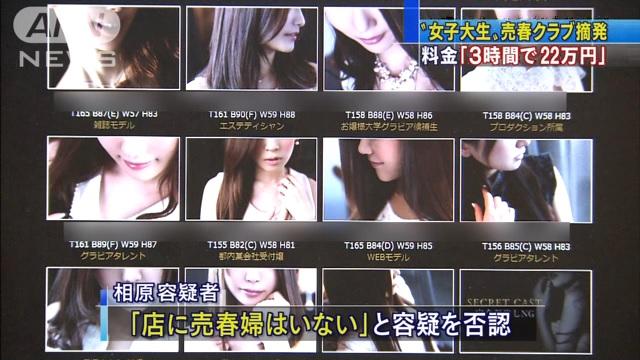 売春クラブ摘発ニュース画像2