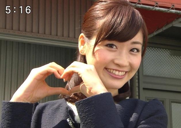 牧野結美アナの可愛い写真2