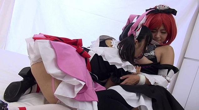 西木野真姫、矢澤にこのレズプレイ画像