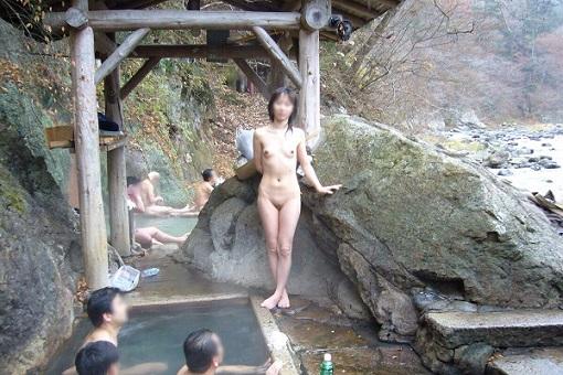 温泉の盗撮画像8