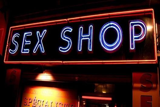 セックスショップの画像