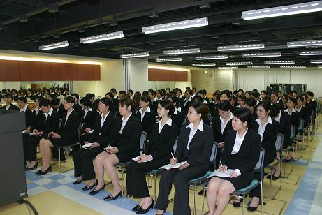 就職説明会の画像