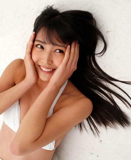 白間美瑠 笑顔の画像