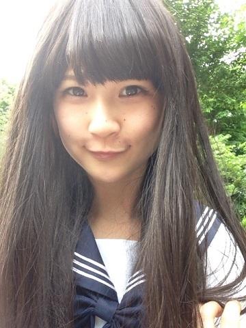 黒髪ロングJK